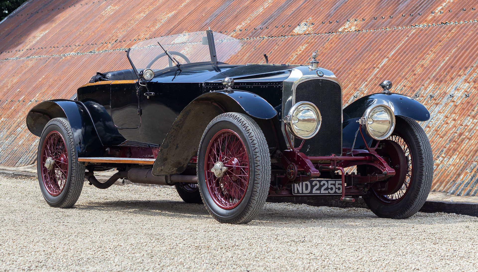 1923 Vauxhall 30-98 OE Skiff by Mulliner for sale at The Classic Motor Hub