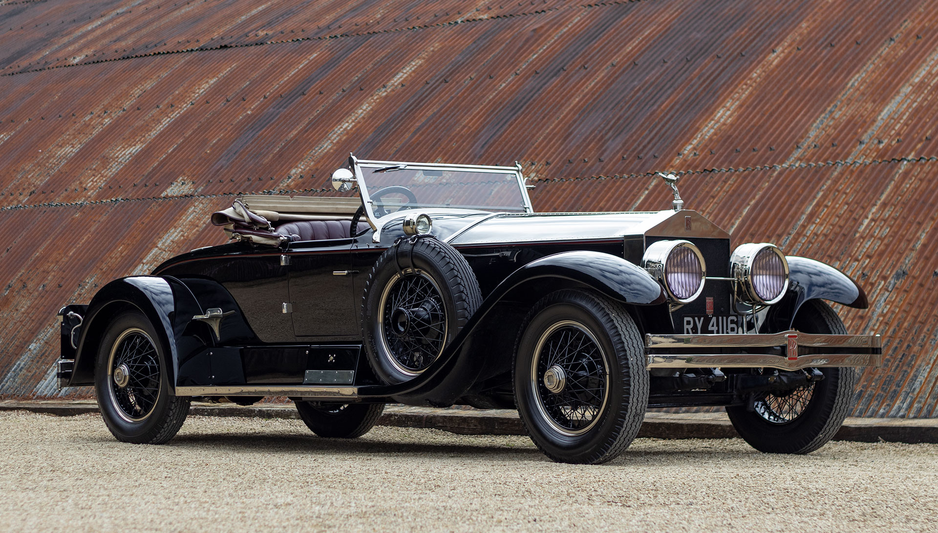 1924 Rolls-Royce Silver Ghost Piccadilly Roadster for sale at The Classic Motor Hub