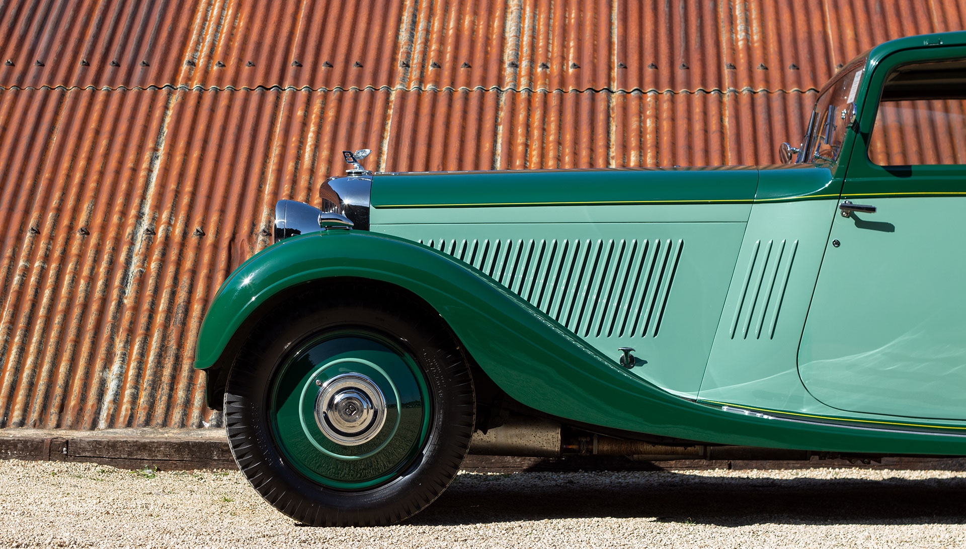 1934 Bentley 3½ Litre Pillarless Coupé by Gurney Nutting for sale at The Classic Motor Hub