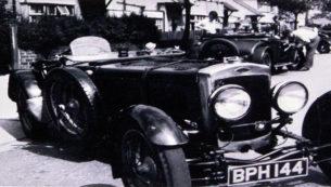 1934 Frazer Nash TT Rep Historic Images