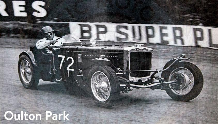 1934 Frazer Nash TT Rep Historic Images Oulton Park
