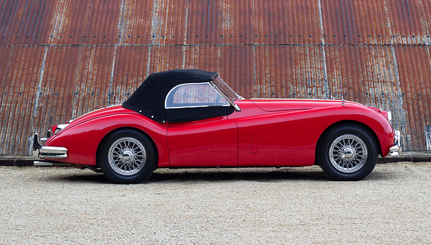 1955 Jaguar XK140 SE OTS - For Sale at The Classic Motor Hub