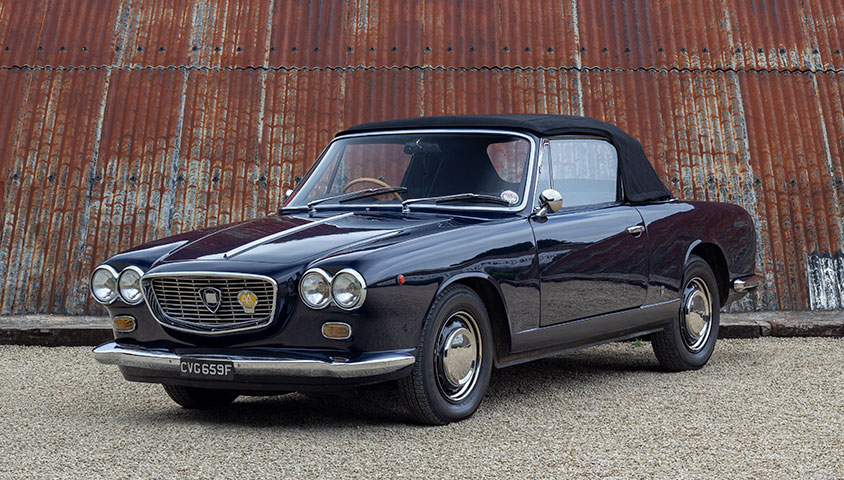 1965 Lancia Flavia Vignale Convertible - For Sale at The Classic Motor Hub