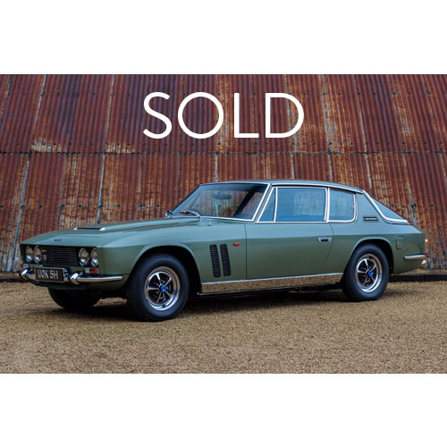 1969 Jensen FF sold at The Classic Motor Hub