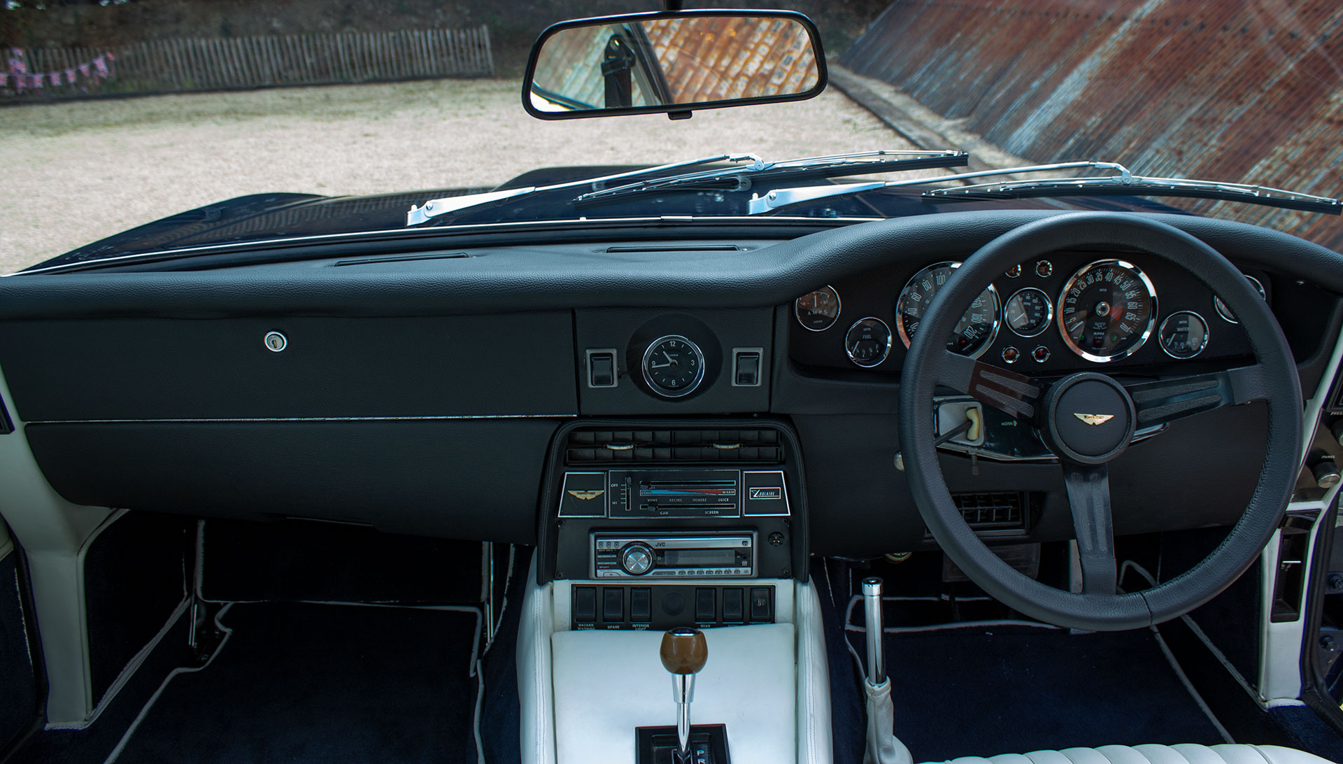 1973 Aston Martin V8 Injection Series 2 for sale at The Classic Motor Hub
