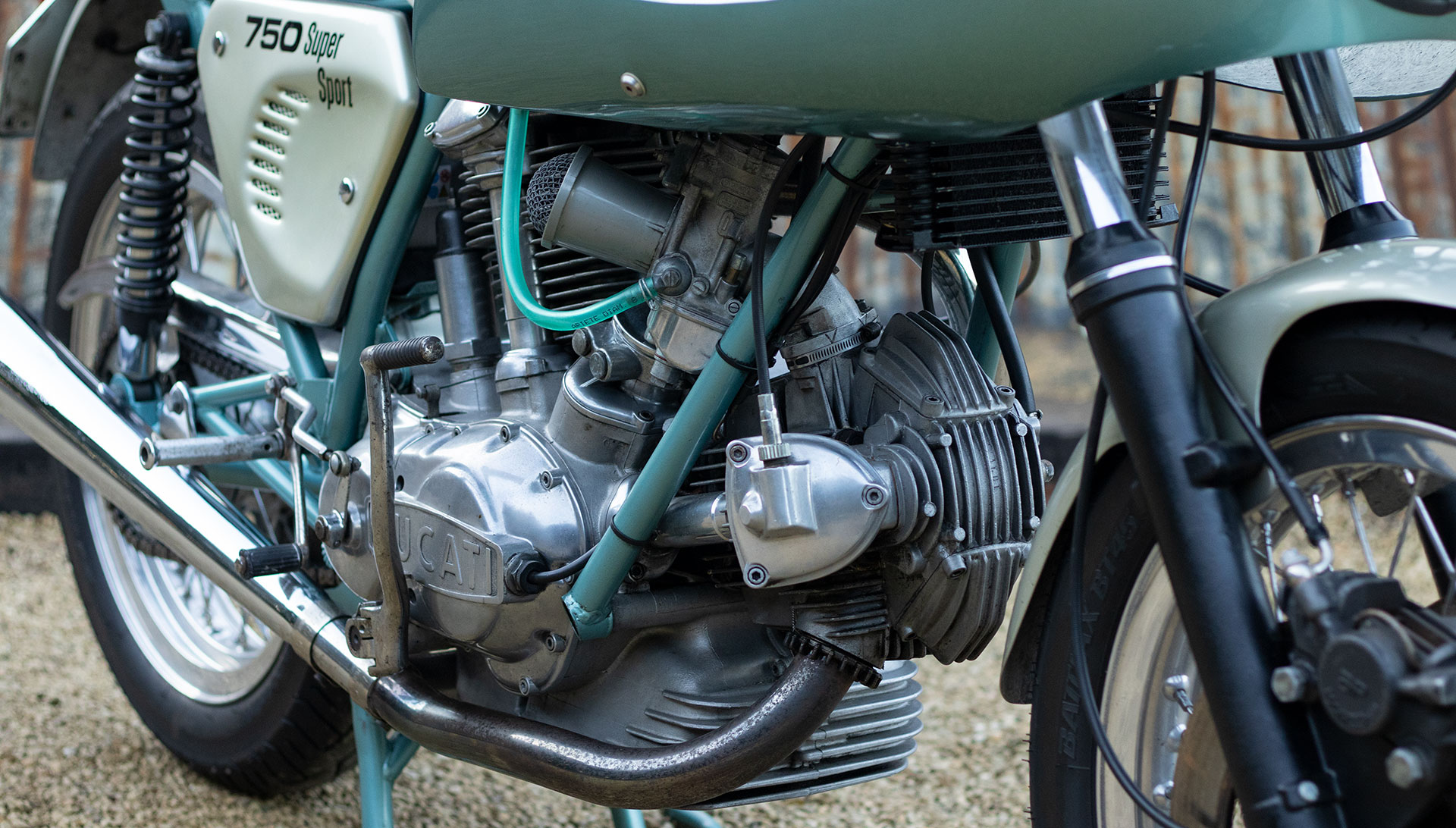 1974 Ducati 750 SS 'Green Frame' for sale at The Classic Motor Hub