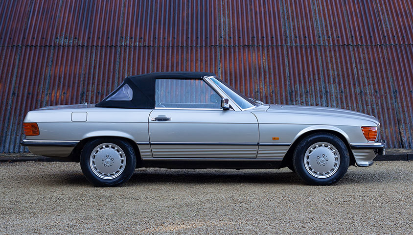 1988 Mercedes Bens SL500 - For Sale at The Classic Motor Hub