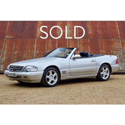 1998 Mercedes Benz SL320 Sold at The Classic Motor Hub