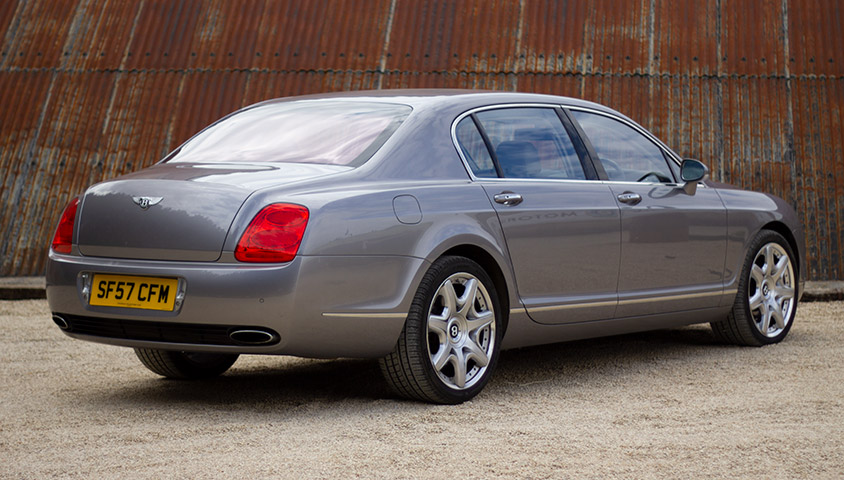 Bentley Continental Flying Spur - Rear threequarters