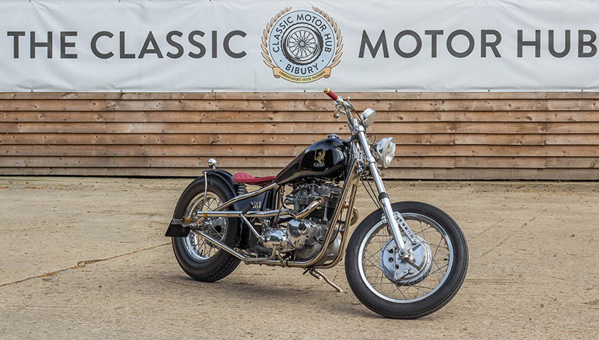 Gladstone Motorcycles No.1 - Front Threequarters