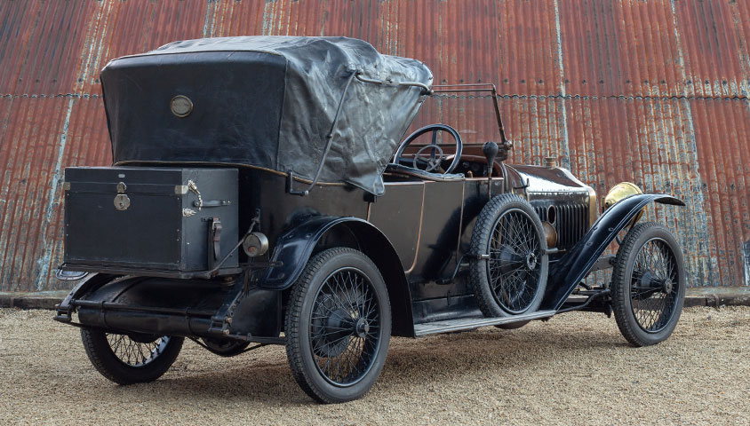 The sole surviving 1913 Piccard Pictet MIII 20/30HP Four-Seater Sporting Victoria - Now for sale at The Classic Motor Hub