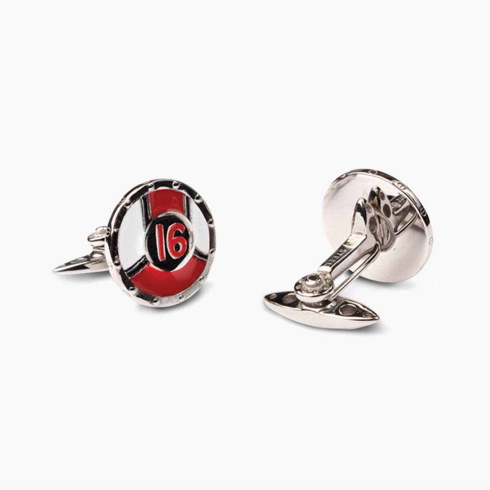 Racing Livery No.16 Cufflinks