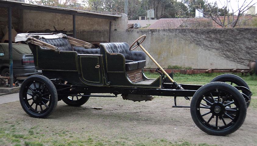 1909 VINTAGE BENZ 25/45 SIX-SEAT SPORTING TOURER