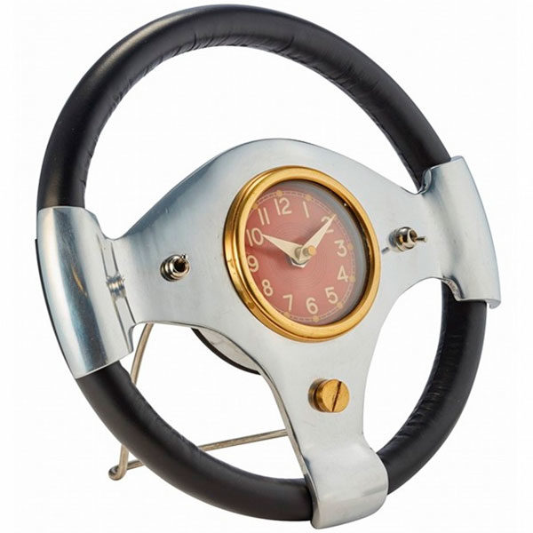 Speedster Steering Wheel Clock - Buy at The Classic Motor Hub