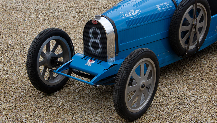 Tula Baby Bugatti Type 52 Child's Car For Sale at The Classic Motor Hub