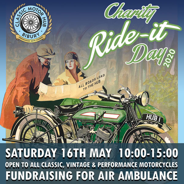 Charity Ride It Day at The Classic Motor Hub