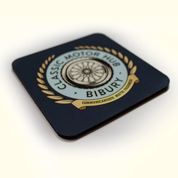 Classic Motor Hub Drinks Coaster