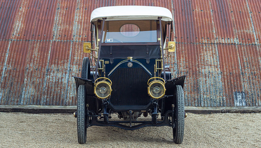 1909 Vintage Benz 25/45 six-seat tourer for sale at The Classic Motor Hub