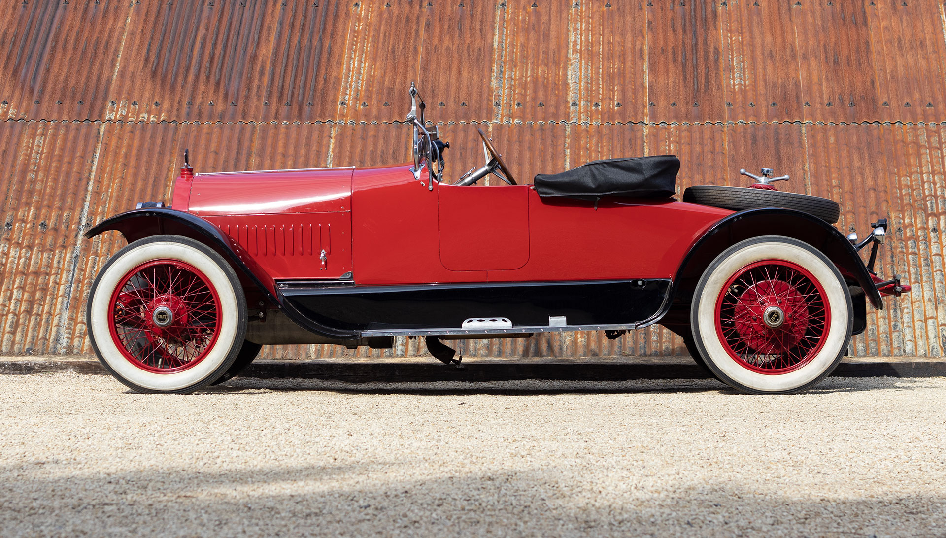 1918 Stutz Bearcat Series S Roadster for sale at The Classic Motor Hub