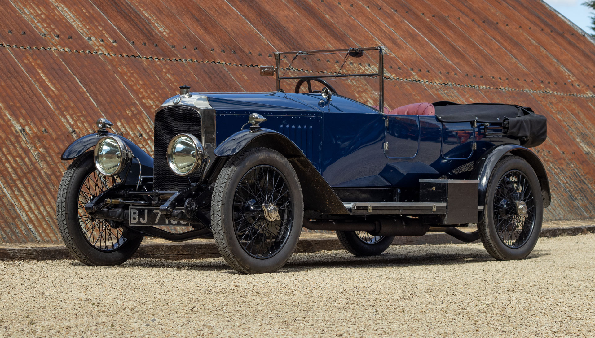 1921 Vauxhall 30-98 E-type Tourer for sale at The Classic Motor Hub