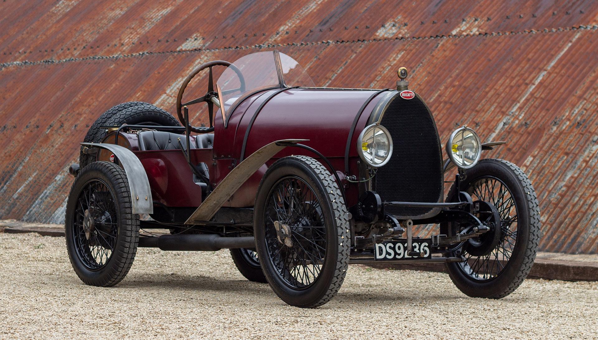 1924 Bugatti Type 13 Brescia For Sale at The Classic Motor Hub
