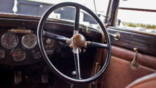 1926 BENTLEY 3/4½-LITRE PARK WARD SALOON for sale at The Classic Motor Hub