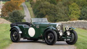 1929 Aston Martin LM3 - Front Threequarters scenic
