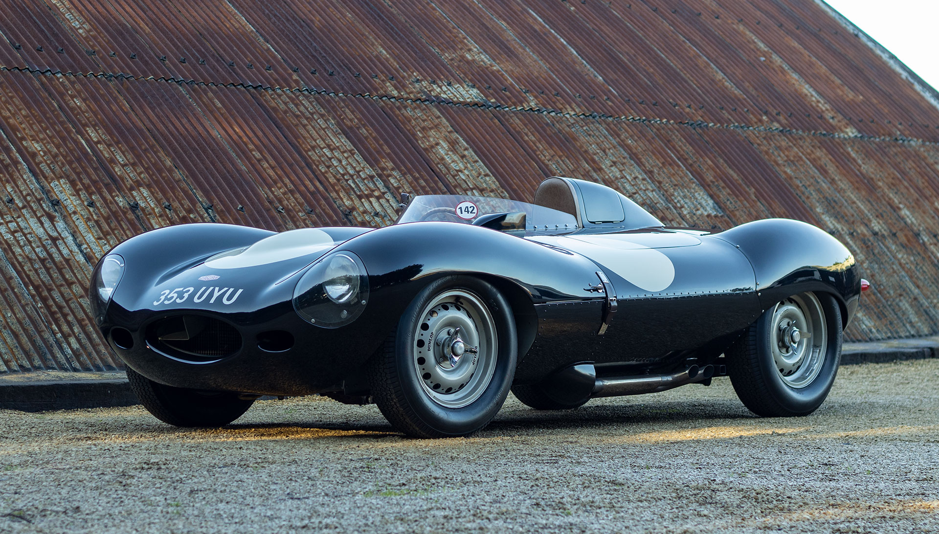 1956 Jaguar D-Type – XKD 526 - for sale at The Classic Motor Hub