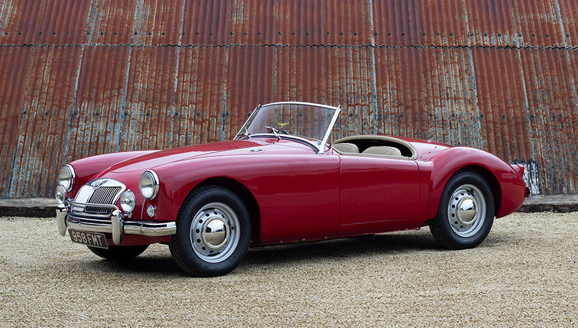 1957 MGA 1500 Roadster - For Sale at The Classic Motor Hub