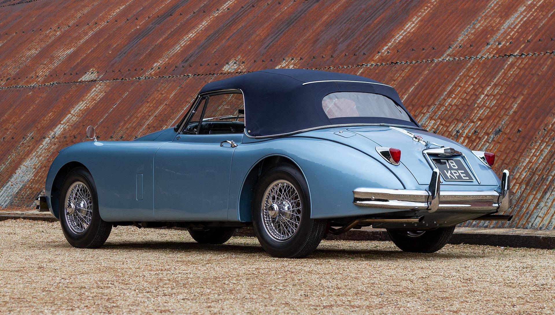 1959 Jaguar XK150 S 3.4 DHC for sale at The Classic Motor Hub