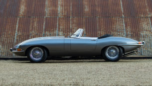 1961 Jaguar E-Type Series 1 Flat Floor 3.8 for sale at The Classic Motor Hub