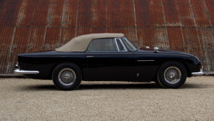 1963 Aston Martin DB5 Convertible - Side Profile Hood Up