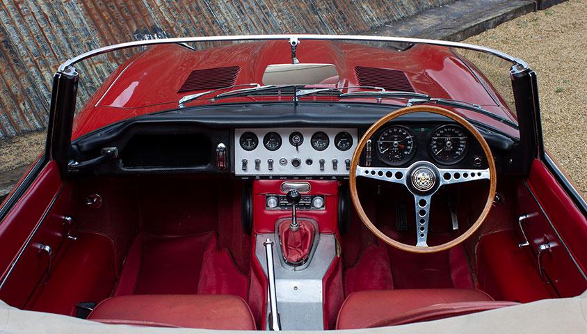1963 Jaguar E Type 3.8 Roadster For Sale at The Classic Motor Hub