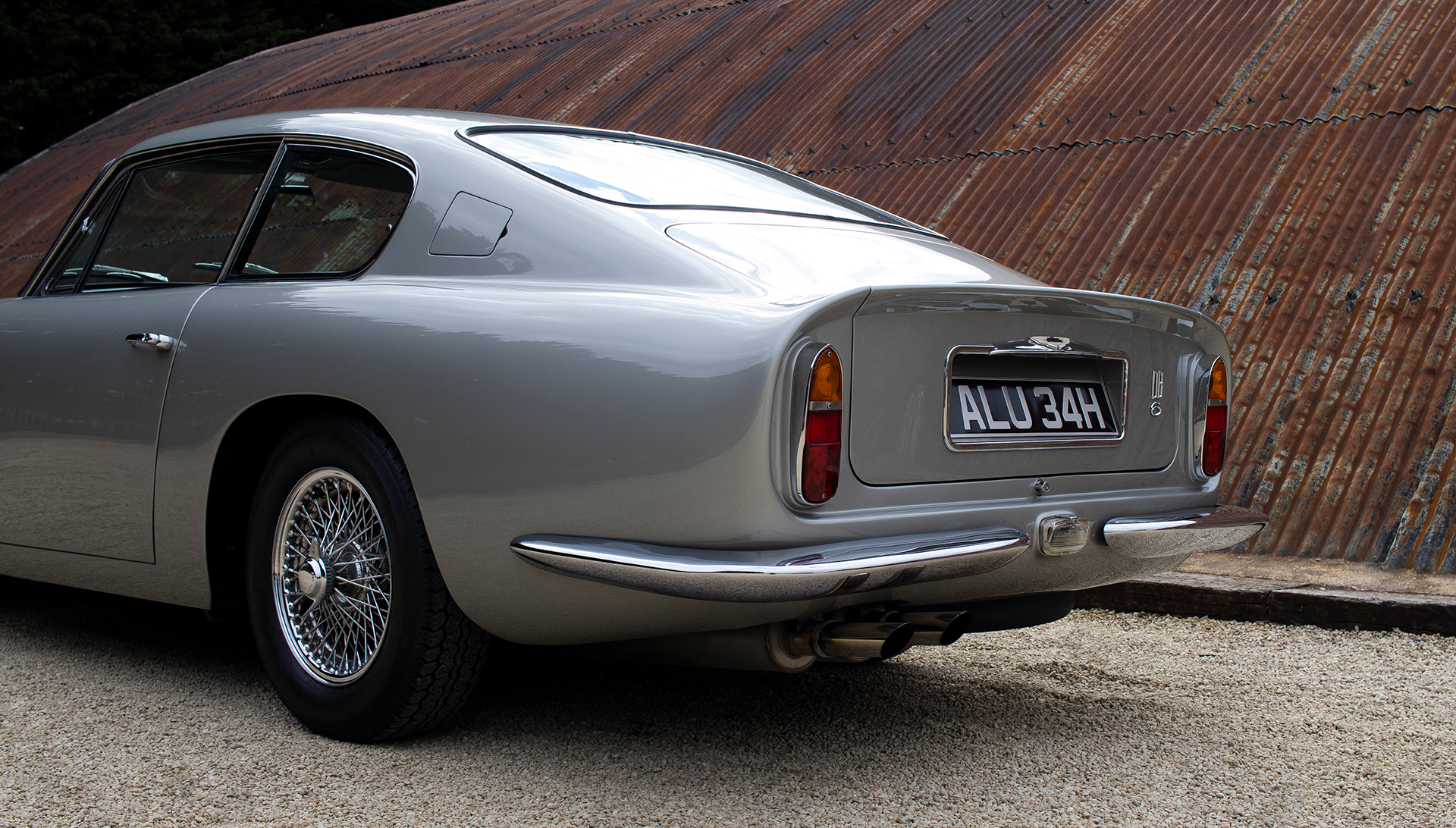 1969 Aston Martin DB6 for sale at The Classic Motor Hub