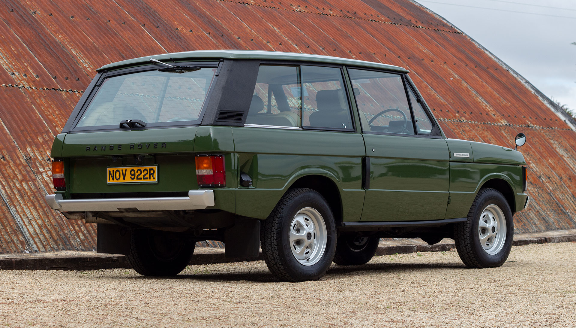 1976 Range Rover Suffix D S1 For Sale at The Classic Motor Hub