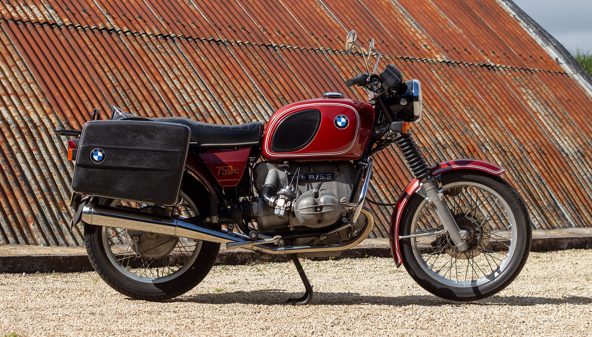 1977 BMW R75/6 for sale at The Classic Motor Hub