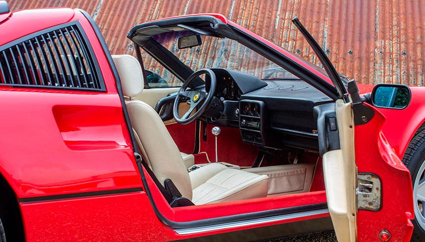 1985 Ferrari 328 GTS For Sale at The Classic Motor Hub