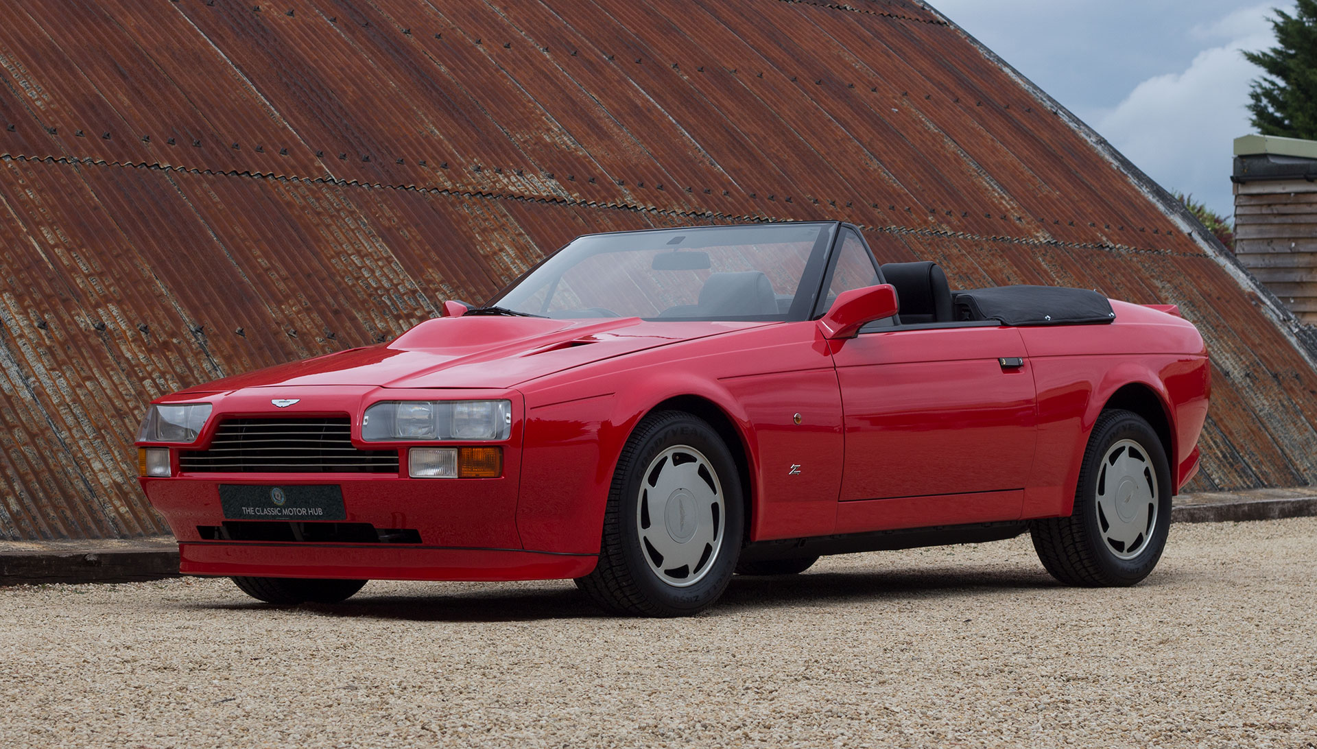 1989 Aston Martin V8 Vantage Volante Zagato for sale at The Classic Motor Hub