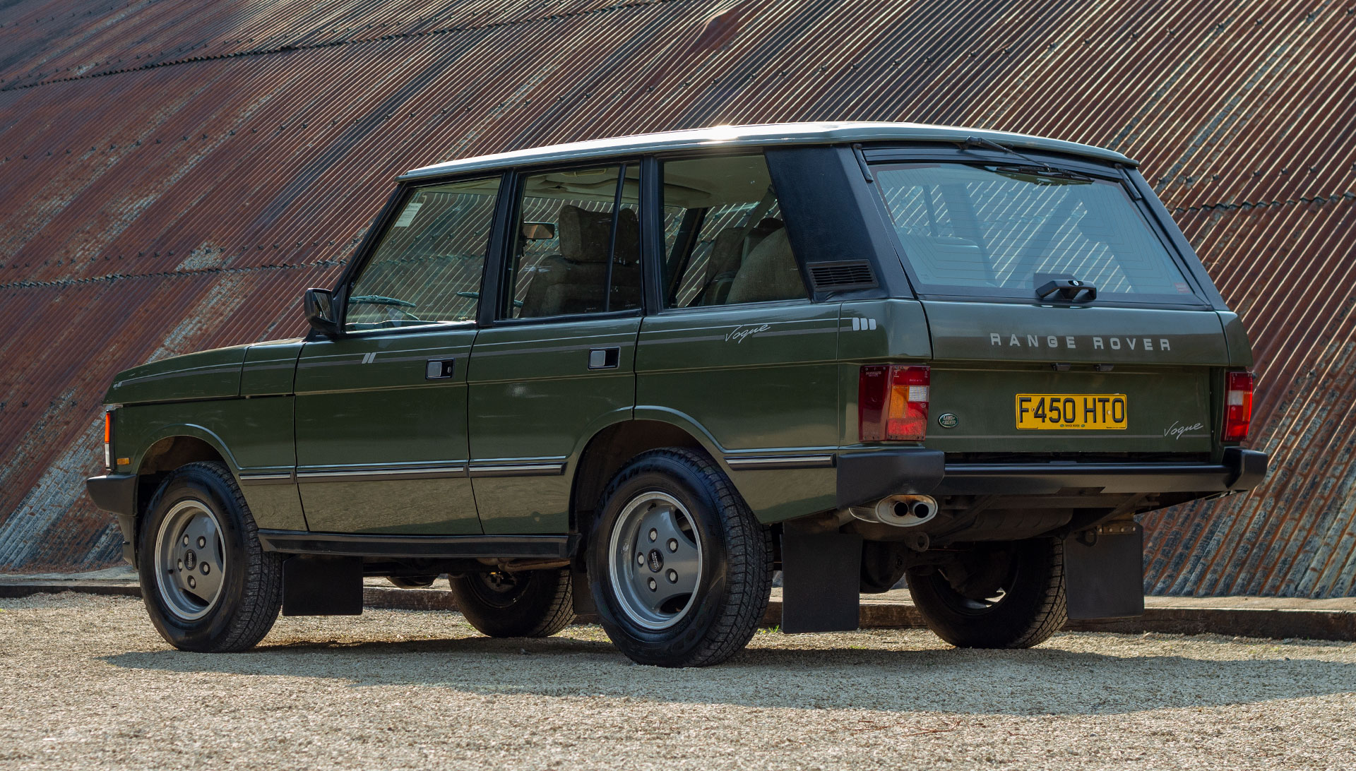 1989 Range Rover Classic Vogue For Sale at The Classic Motor Hub