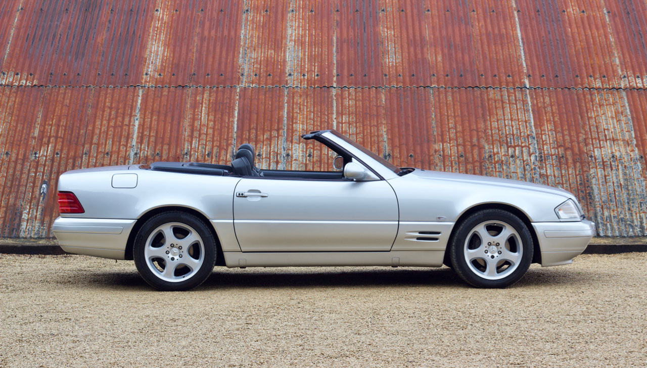 1998 Mercedes SL320 for sale at The Classic Motor Hub