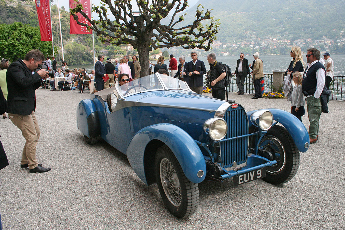 Memories of Concorso d'Eleganza Villa d'Este from James Wheeler