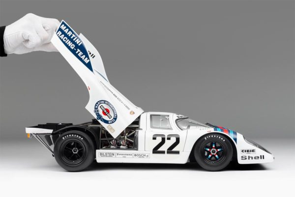 Porsche 917k Model - 1971 Le Mans Winner - 1:8 Scale Replica from Amalgam Models