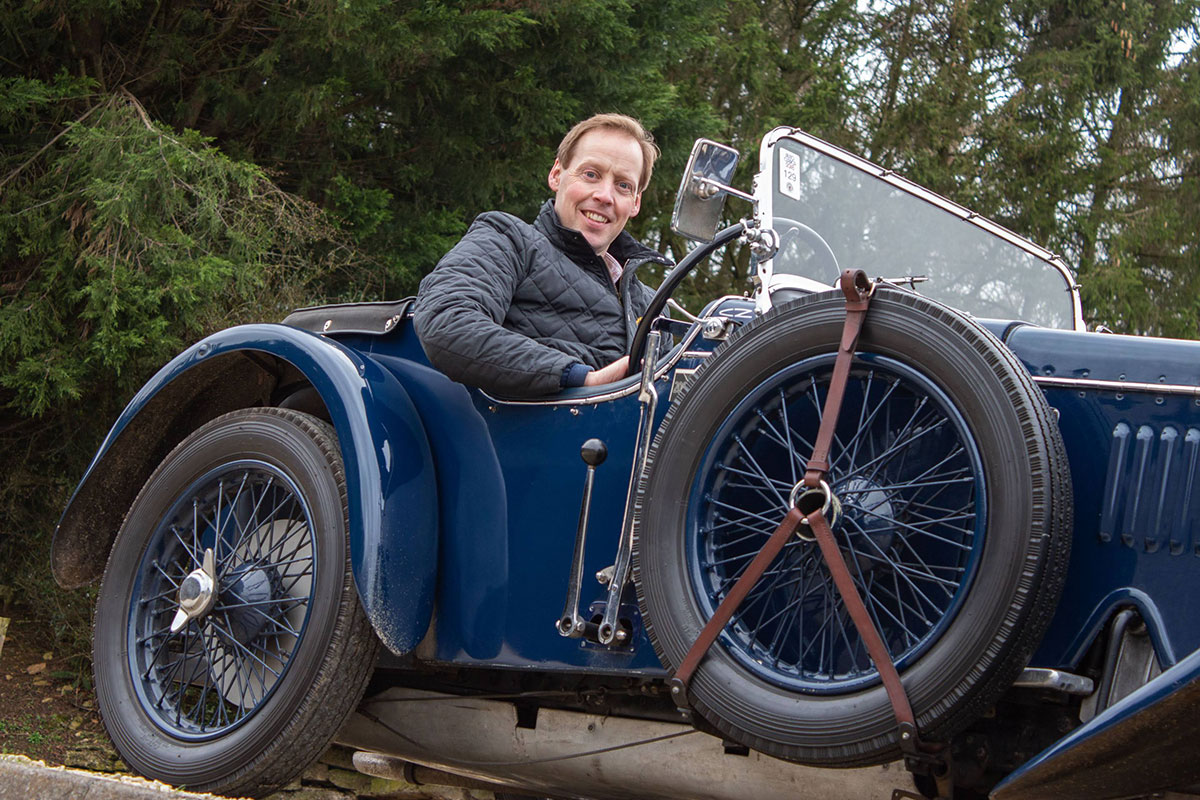 Hub Focus - Angus MacCurrach Tells Us Why This Frazer Nash is His Current Showroom Favourite