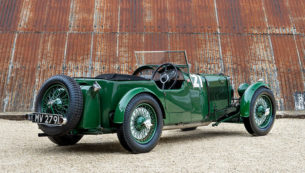 1932 Aston Martin Works Team LM8 - Le Mans Classic Race Car