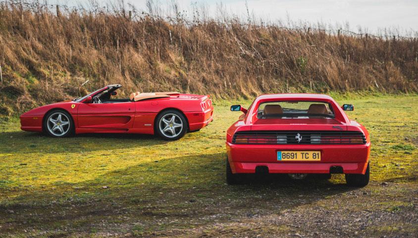 Buying An Affordable Ferrari at The Classic Motor Hub
