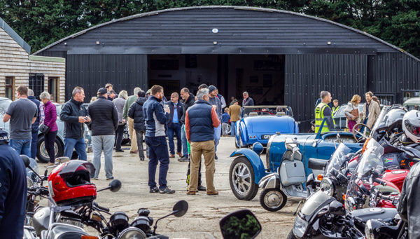 Coffee and Classics Roundup 2018 - Lots of visitors