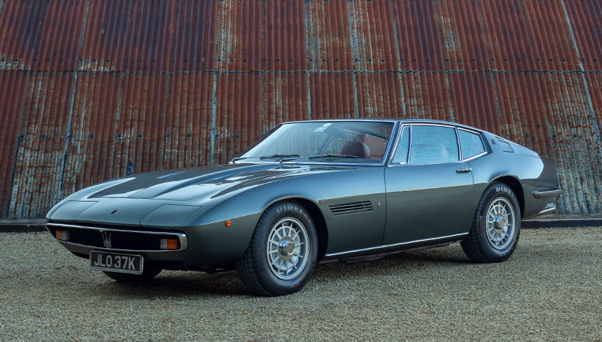 Maserati Ghibli For Sale at The Classic Motor Hub