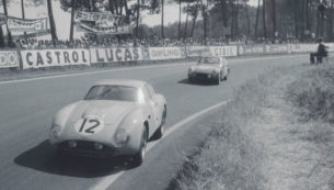O.S.C.A. 1600 GTS Zagato at Le Mans in 1962