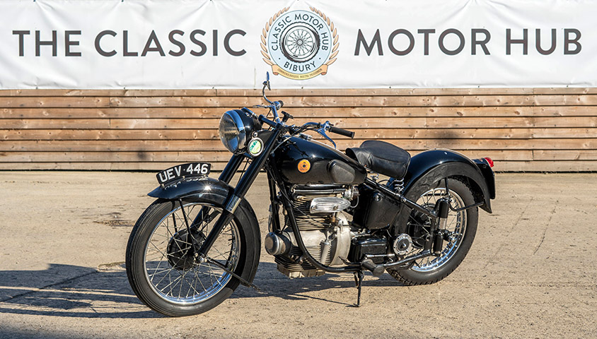 1952 Sunbeam S8 Motorcycle