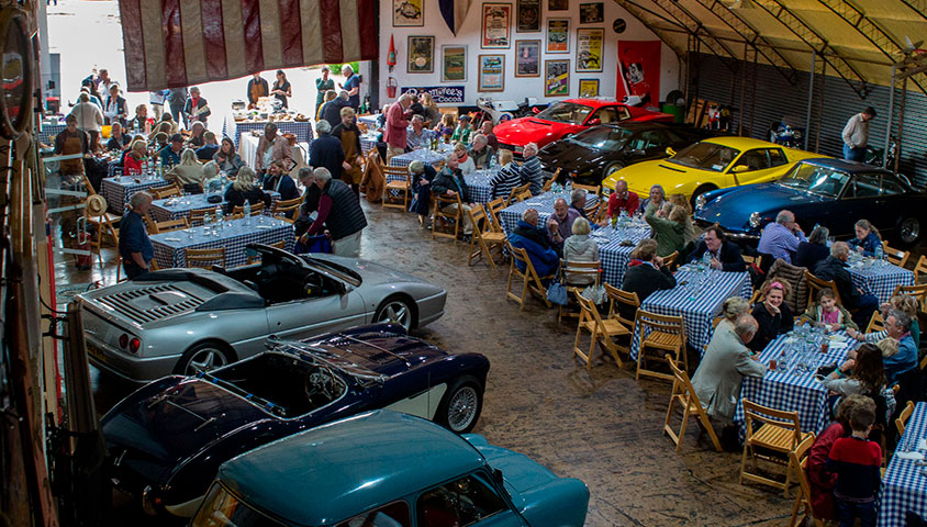 Classic Car Clubs at The Classic Motor Hub